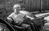 Finley Tractor B&W