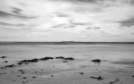 Warkworth Beach B&W