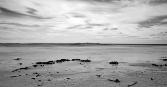 Warkworth Beach B&W